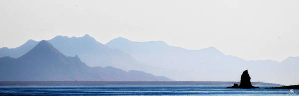Baja Point Blue Art Print