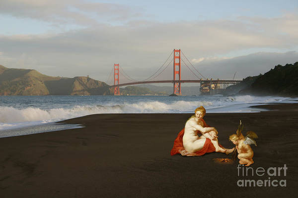 Digital Art - Baker Beach by Elena Nosyreva