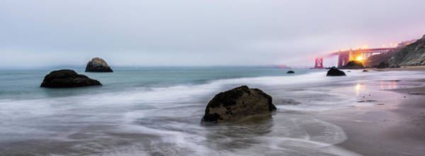 Photograph - Baker Beach Obscured by Jon Glaser