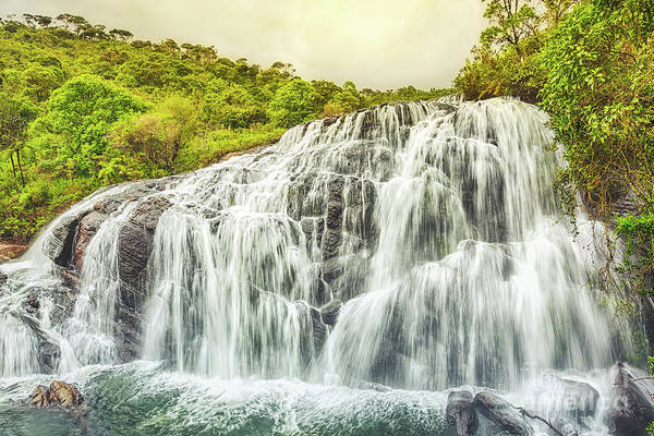 Srilanka Wall Art - Photograph - Bakers Falls. by MotHaiBaPhoto Prints