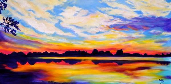 Wall Art - Painting - Baker's Sunset by Debi Starr