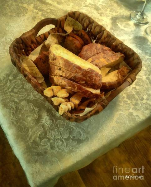 Painting - Bakery Basket by RC DeWinter