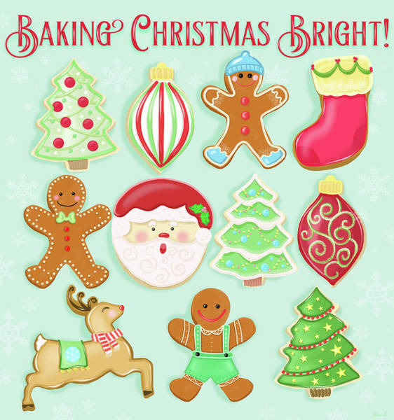 Icing Painting - Baking Christmas Bright by Little Bunny Sunshine
