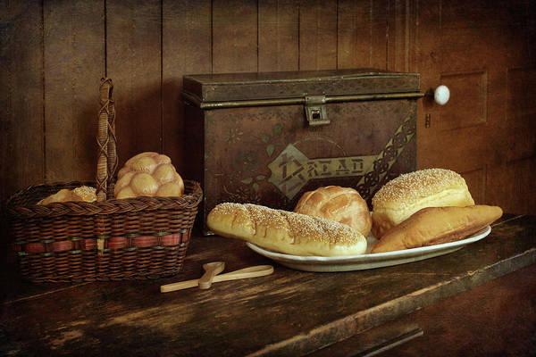 Tin Box Photograph - Baking Day - Bread by Nikolyn McDonald