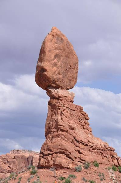 Photograph - Balance Rock by Frank Madia