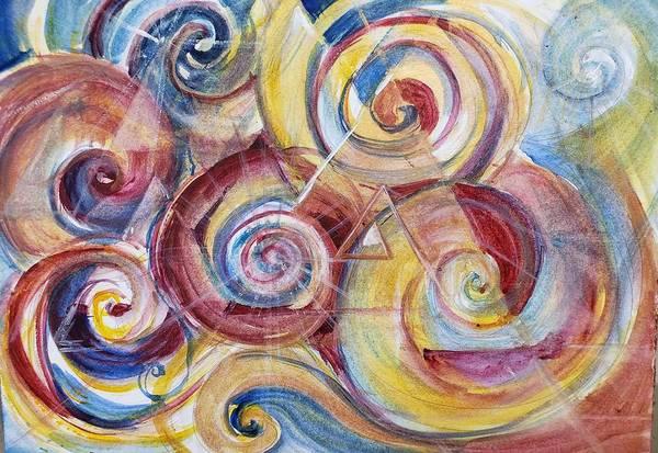Painting - Balanced Awakening by Christie Martin