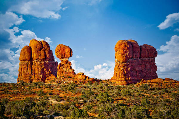 Photograph - Balanced Rock And Friends by Renee Sullivan