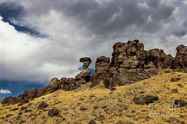 Balanced Rock Idaho Journey Landscape Photography By Kaylyn Franks Art Print