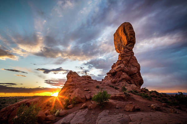 Photograph - Balanced Rock by Whit Richardson