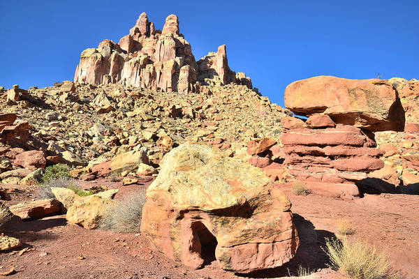 Photograph - Balanced Rocks Behind The Castle by Ray Mathis