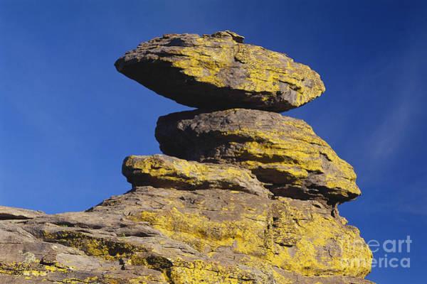 Photograph - Balanced Rocks In Arizona by James Steinberg