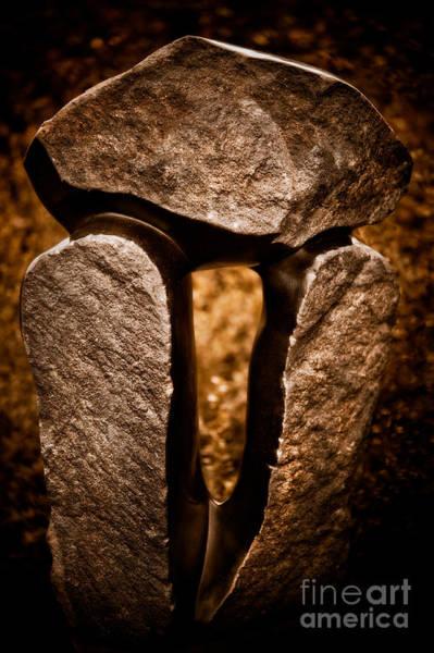 Balancing Rocks Photograph - Balancing Rocks by Venetta Archer