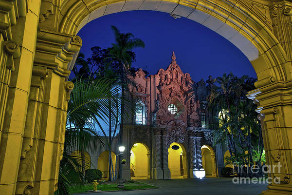 Photograph - Balboa Park At Twilight In San Diego, California, Usa by Sam Antonio Photography