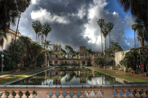 Wall Art - Photograph - Balboa Park Fountain by Jane Linders