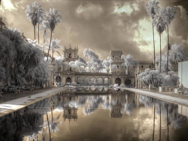 Wall Art - Photograph - Balboa Park Infrared by Jane Linders