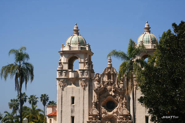 Digital Art - Balboa Park by Jhiatt