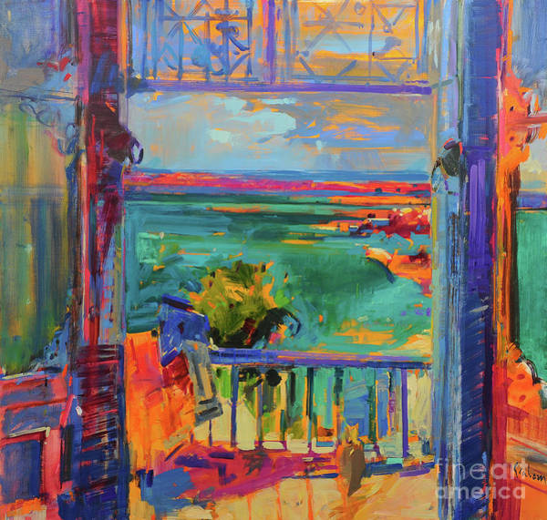 Wall Art - Painting - Balcon De Paradis by Peter Graham