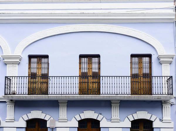 Wall Art - Photograph - Balcony And Doors by Oscar Gutierrez