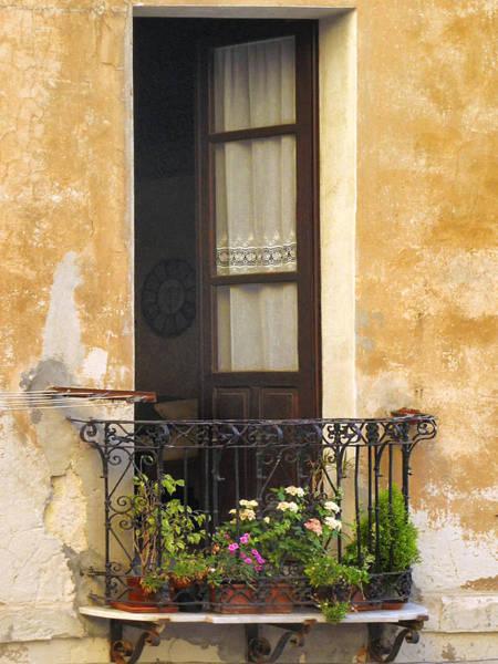 Photograph - Balcony by Dominic Piperata
