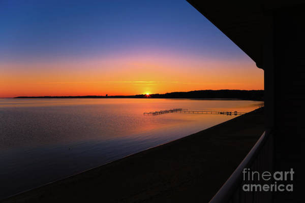 Photograph - Balcony Sunrise by Rachel Cohen