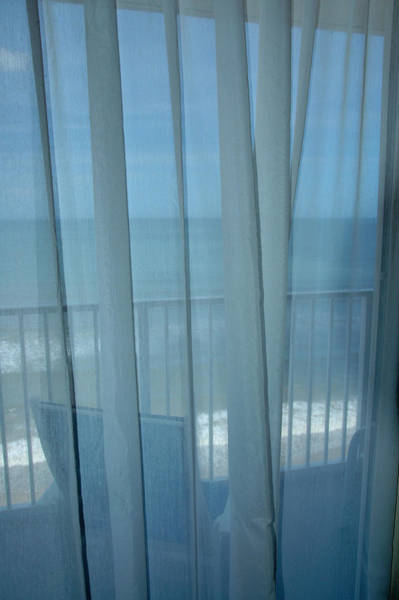Photograph - Balcony With Ocean View - Melbourne Fl by Frank Mari