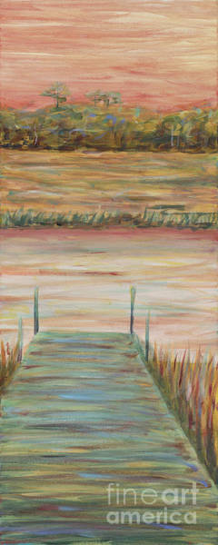 Wall Art - Painting - Bald Head Dock by Nadine Rippelmeyer