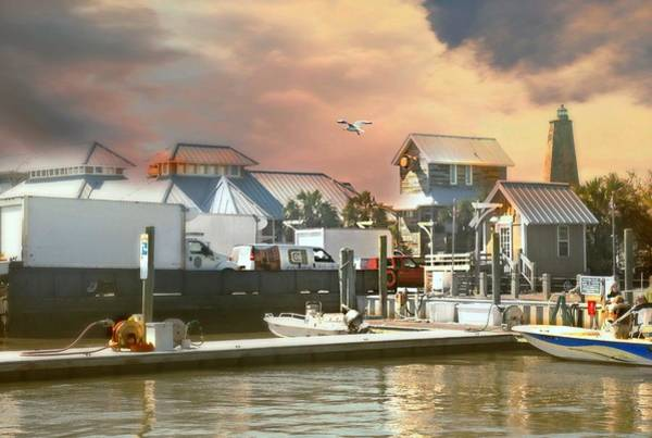 Wall Art - Photograph - Bald Head Island Pier by Diana Angstadt