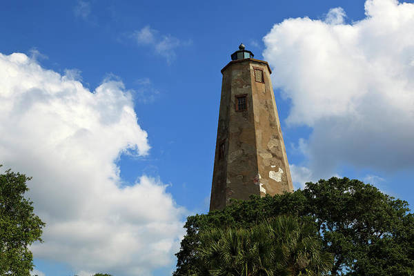 Photograph - Bald Head Island Lighthouse Old Baldy by Jill Lang