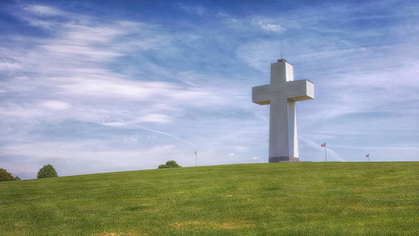 Photograph - Bald Knob Cross Of Peace by Susan Rissi Tregoning