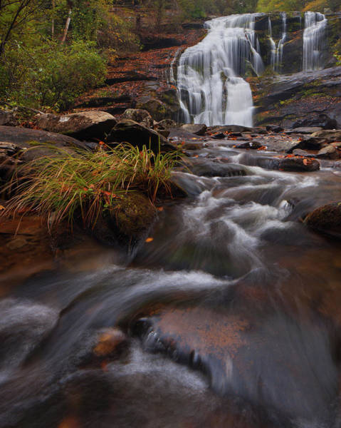 Photograph - Bald River Falls by Dennis Sprinkle