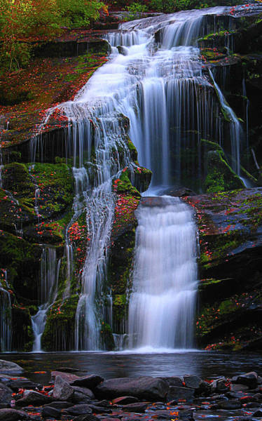 Wall Art - Photograph - Bald River Falls by Elijah Knight