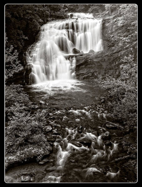 Wall Art - Photograph - Bald River Falls Monochrome by Ron Plasencia