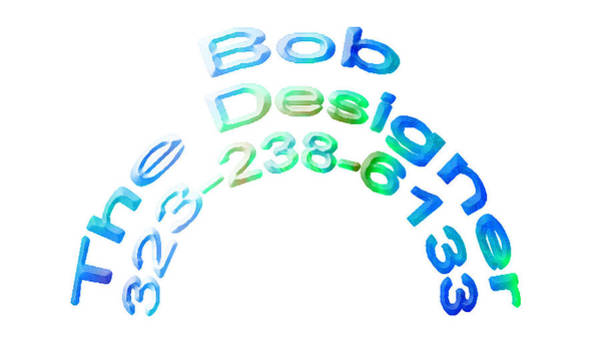 Robbie Digital Art - Baldwin Ave Web And Graphic Design 323-238-6133 by Robbie Commerce