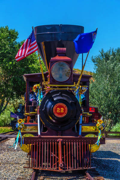 Gauge Photograph - Baldwin Locomotive 22 Gingerbread by Garry Gay