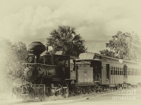 Photograph - Baldwin Locomotive Iron Metal by Dale Powell