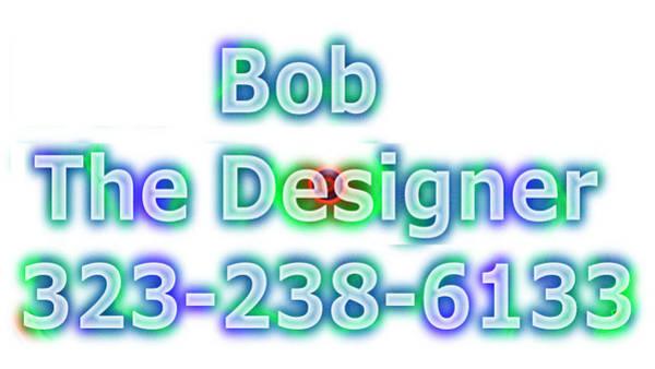Robbie Digital Art - Baldwin Park Web And Graphic Design 323-238-6133 by Robbie Commerce
