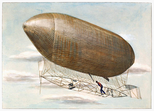 Photograph - Baldwins Airship, 1904 by Granger
