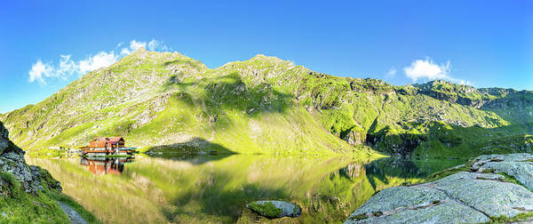 Photograph - Balea Lake Panorama by Mihai Andritoiu