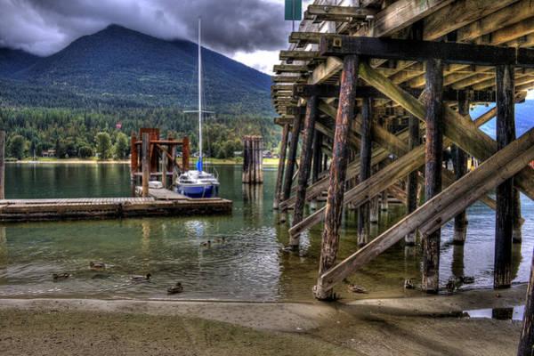 Photograph - Balfour British Columbia by Lee Santa