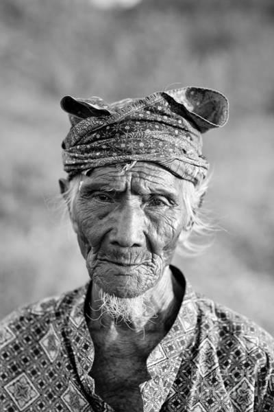 Fishermen Photograph - Bali Fisherman by Mike Reid