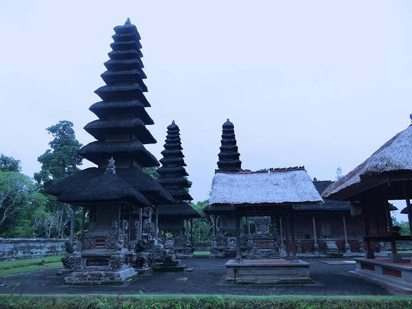 Photograph - Balinese Temple On Side by Exploramum Exploramum