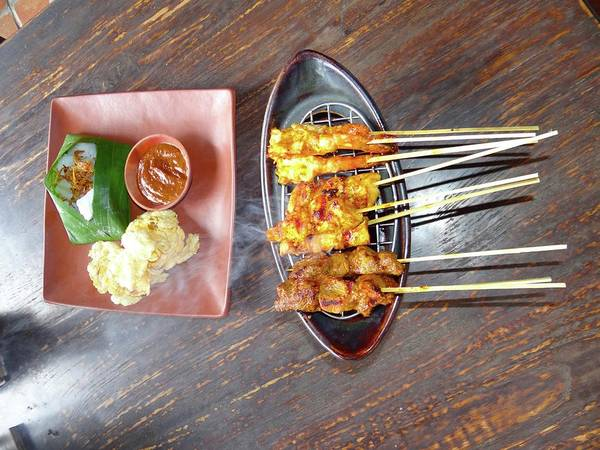 Photograph - Balinese Traditional Satay by Exploramum Exploramum