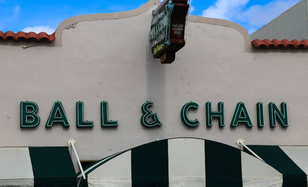 Photograph - Ball And Chain by Dart and Suze Humeston