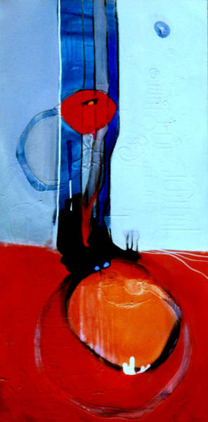 Painting - Ball And Chain Outcome by Marlene Burns