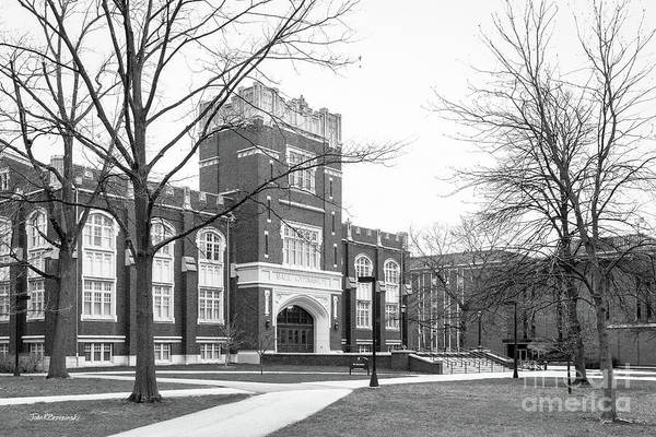 Photograph - Ball State University Ball Gymnasium by University Icons