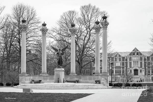 Photograph - Ball State University Benny Plaza by University Icons