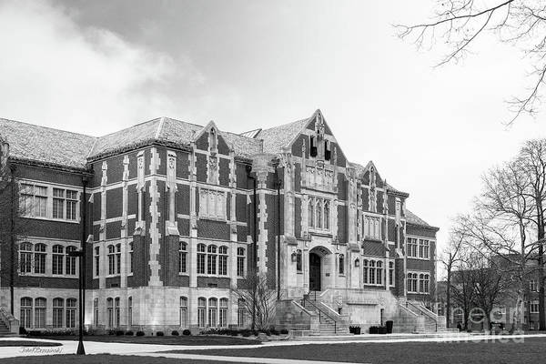 Photograph - Ball State University Owsley Hall by University Icons