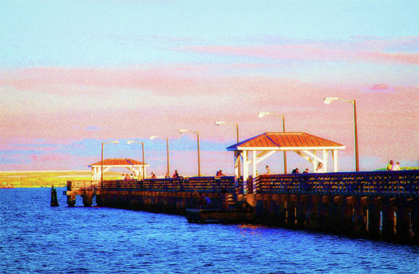 Photograph - Ballast Point Pier In South Tampa by Ola Allen