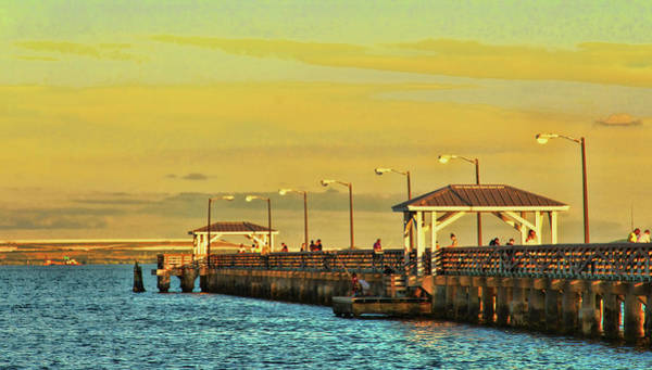Photograph - Ballast Point Pier In Tampa Florida by Ola Allen