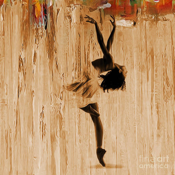Belly Dancing Painting - Ballerina 0451 A by Gull G